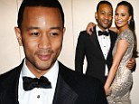 Did John Legend cheat on fiancee Chrissy Teigen? R&B singer accused of 'locking lips with mystery blonde in a bathroom stall'
