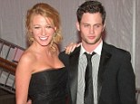 As they were: Blake Lively and Penn pictured in the midst of their three year romance back in 2008