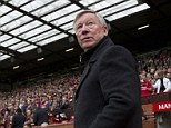 Come on down, the price is.... wrong: Sir Alex Ferguson's last game in charge of Man United is in high demand