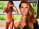 Just when you thought her life couldn't get any better! Gisele Bundchen tweets picture of her perfect bikini body as she spends time at luxurious resort