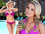 Bikini-clad Holly Madison reveals how she lost her 30lbs baby weight in just SIX WEEKS... wearing corsets and eating 1100 calories a day