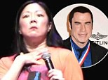 'John Travolta is so gay': Margaret Cho causes controversy as she brands her Face/Off co-star 'gay' in comedy routine