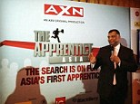 Hot seat: QPR chairman Tony Fernandes will play the part of Alan Sugar in a Malaysian series of The Apprentice