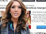 Farrah Abraham 'was turned down' by millionaire dating website shortly before sex tape release