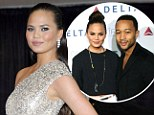 Chrissy Teigen jokes that fiance John Legend is 'trying to kill' her after allegations he 'locked lips' with another woman