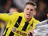 Emirates-bound? Borussia Dortmund right-back Lukasz Piszczek (left) could be on his way to Arsenal