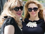 All dolled up! Courtney Love enjoys a day of beauty and submits herself to a makeover