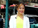 Dancing dames: Dancing with the Stars judge Carrie Ann Inaba and So You Think You Can Dance host Cat Deeley both appeared on Extra Thursday, albeit, on two different coasts
