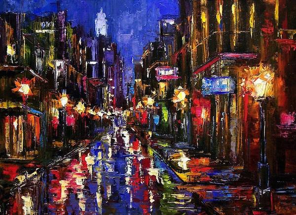 New Orleans Storm by Deborah Hurd