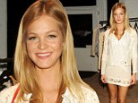 Not a nick in sight! Erin Heatherton flaunts perfect legs just days after leaving the 2013 Met Ball with a gash on her ankle
