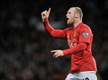 Temperamental: Wayne Rooney's time at Manchester United has been far from smooth
