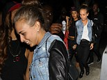 Chloe Green out partying with friends in LA on Thursday