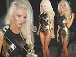 Wig out: Courtney Stodden left even less to the imagination as usual when she went out wearing a tiny outfit