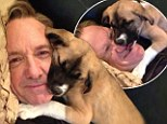 'Meet the new member of my family'! Kevin Spacey adopts dog and calls her Boston 'in honour of the city' after bombings