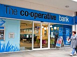 Downgrade: Moody's warned the Co-operative Bank could need external support to maintain levels of capital required by UK regulation