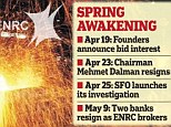 Tense: It is said that corruption allegations at ENRC have driven a wedge between the founders and board members