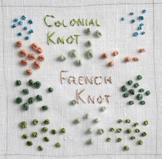 Большая коллекция швов для вышивания. Часть 2