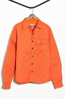 Orange Nylon Shirt