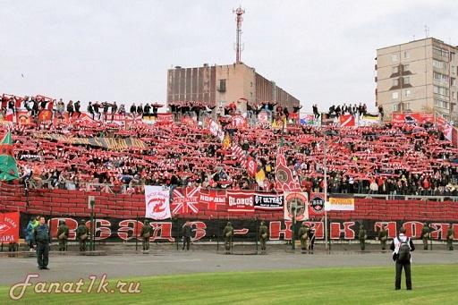 Футбольный выезд в Пермь
