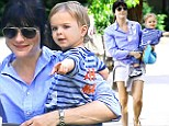 Animal Management! Selma Blair has a blast at the zoo with her son Arthur, possibly the happiest child in Los Angeles