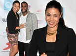 Her shining moment! Jordin Sparks shows off her curves in floral mini-skirt as she cuddles with beau Jason Derulo at awards gala