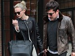 The calm before the storm: Casual Carey Mulligan enjoys a low-key outing with her husband ahead of The Great Gatsby release