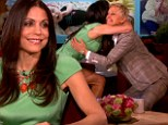 'My daughter is getting me through divorce': Bethenny Frankel thanks three-year-old Brynn (and friend Ellen DeGeneres) in emotional TV chat