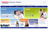 Tesco Property Market screen shot