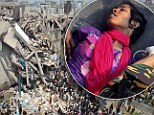 Reshma Begum was pulled out of the rubble alive after 17 days