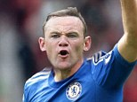 The future? How Rooney would look in Chelsea colours as imagined by Sportsmail