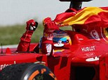 Reign in Spain: Alonso powered to victory at the Circuit de Cataluny