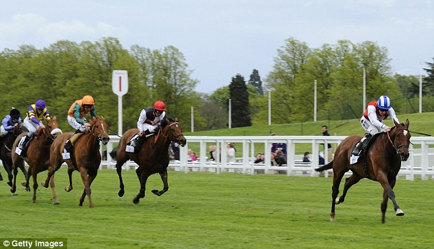Girl power: Gifted Girl gave Queally his second winner of the afternoon