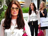 Girls day out! Lisa Vanderpump and daughter Pandora enjoy mother-daughter shopping spree