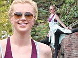 So that's how she does it! Ireland Baldwin stretches her lithe limbs before a jog after stating she wants to be viewed as 'healthy'