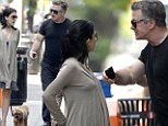 He's at it again! Notoriously hot-tempered Alec Baldwin loses his cool with heavily pregnant wife Hilaria Thomas