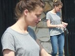 Run out of clean clothes? Amber Heard goes braless and make-up free as she drops off her dirty laundry at the cleaners