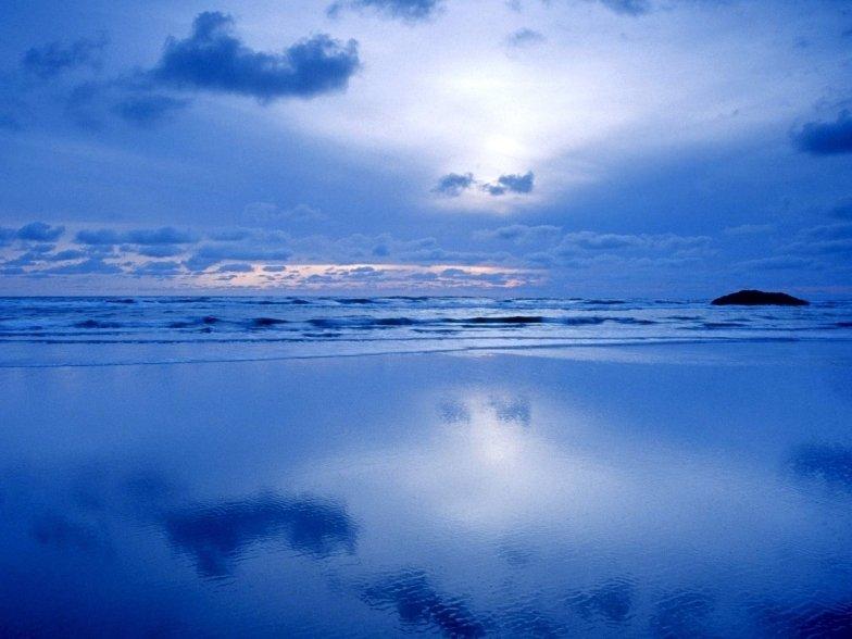 фото на диком пляже