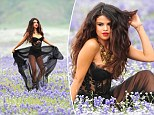 Sexy Selena: Selena Gomez shows off her sultry side in these new shots from her music video for Come and Get It
