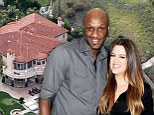 'He's been shot!' Police swarm Khloe Kardashian and Lamar Odom's home after swatting prank