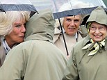 The Queen and Duchess of Cornwall at the Royal Windsor Horse Show
