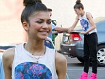 Fan favorite: Zendaya stopped to sign autographs as she arrived at the dance studio on Friday for Dancing With The Stars rehearsal