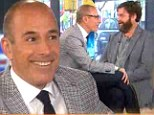 'Do YOU need an intervention?' Today's Matt Lauer gets fidgety after Zach Galifianakis turns the tables during interview