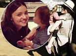 Precious moments! Miranda Kerr and Pink cuddle up to their little ones as stars share Mother's Day celebrations on Twitter