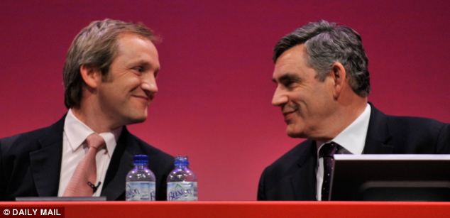 James Purnell with then Prime Minister Gordon Brown