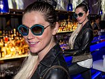Back to basics! Kesha ditches cornrows and brings back signature blonde tresses for an 'amazing night' out in Las Vegas