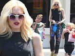 Cheers to their cool mom! Gwen Stefani takes her sons Kingston and Zuma on a play date at Chuck E. Cheese for Mother's Day