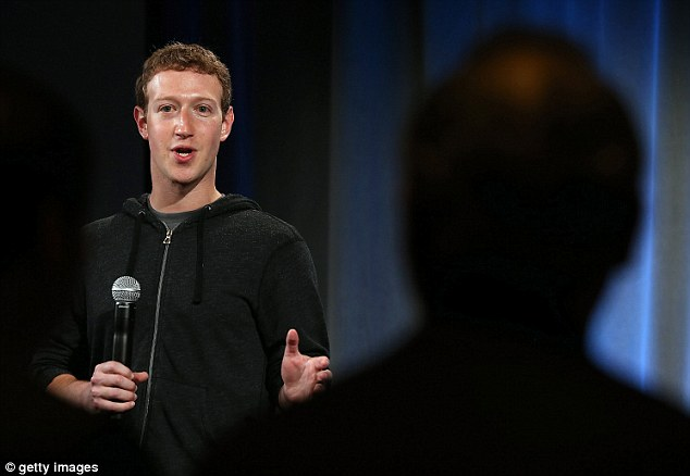 Controversy: Zuckerberg, pictured, is a founder of fwd.us