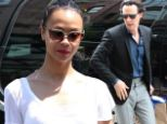 Lazy saturday with the Trekkies: Zoe Saldana looks summery and casual in LA, while Benedict Cumberbatch shops in NYC