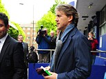 Heading for the exit? Speculation is mounting that Mancini will not see out the season at City