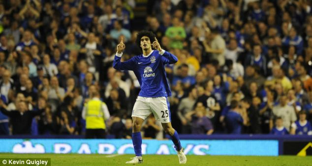 Saving face: Keeping the likes of Marouane Fellaini and Leighton Baines will be a tall order